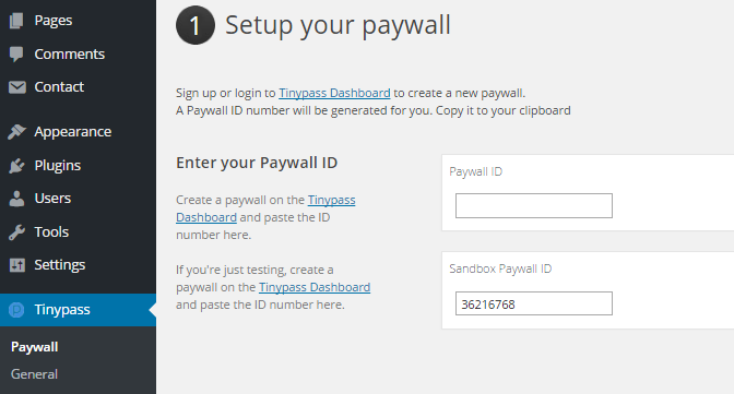 Paywall ID